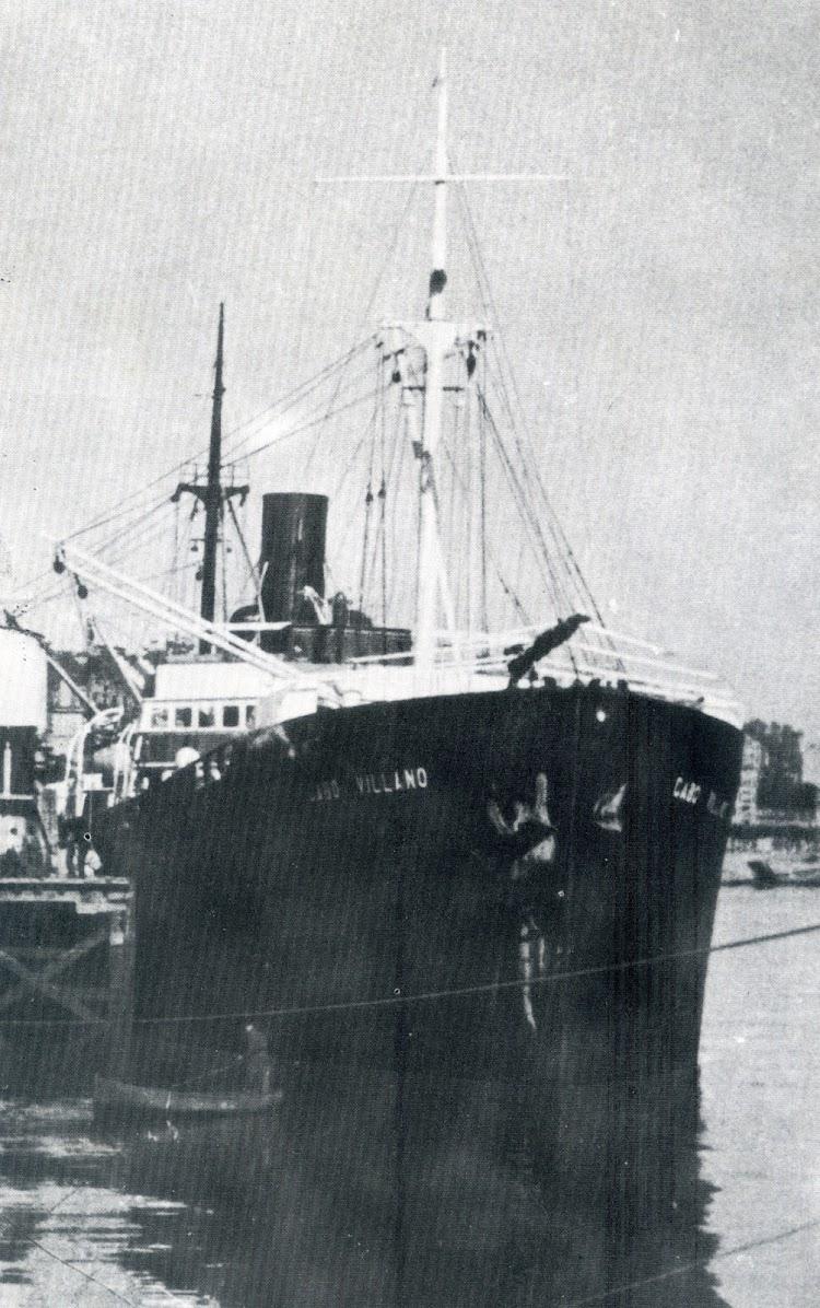 Vapor CABO VILLANO en Santander. Foto del libro 9 HISTORIAS DE BARCOS.jpg