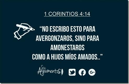 1 corintios 4.14