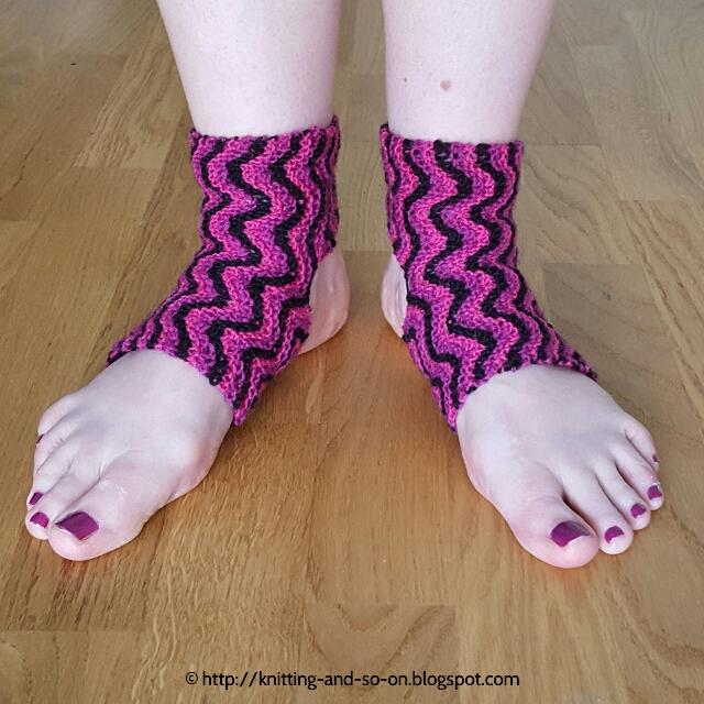 Knitting And So On Bitilasana Yoga Socks