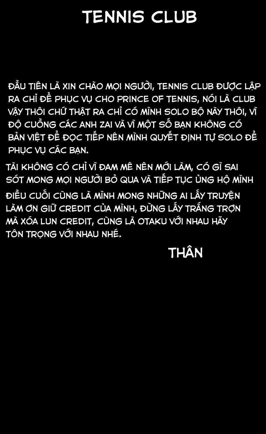 Prince of Tennis chap 203 Trang 1