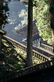 Stairs to Iemitsu Taiyuin Temple