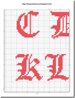 Abacedario Gotico en patrones punto de cruz_002