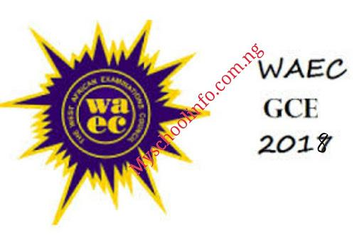 WAEC GCE Jan/Feb Registration 2018 Has Began - See Details