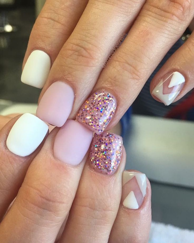 Nail Designs And Nail Art Latest Trends: Best 50 Trendy Short Gel Nail Latest Nail Art Trends