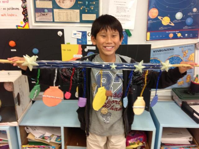 Tamashiro s third grade class solar system project due on feb 21