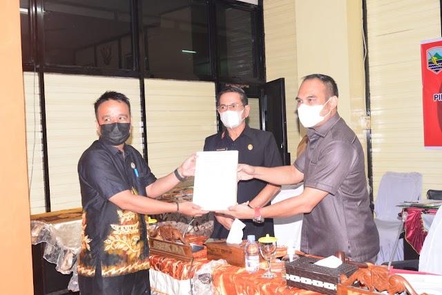 Bersama Pemkab Kotabaru, DPRD Sepakati Raperda Perubahan Hukum PDAM