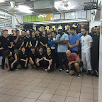 Group photo at Sifu Sam Lau's school.