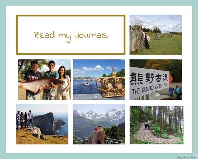 Read my Journal