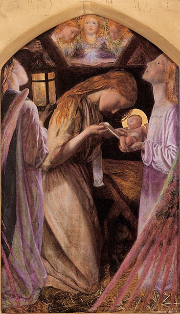 Arthur Hughes - Nativity