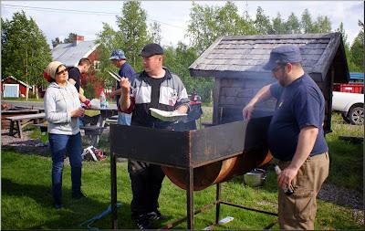 Grillmästarna Ulf och Johannes