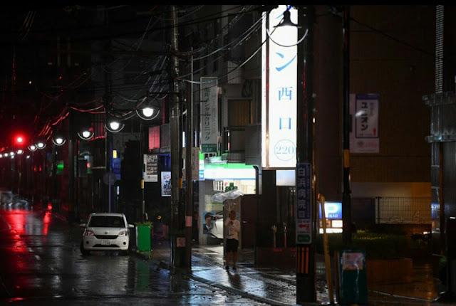 Breaking News: Topan Haishen Memporak Porandakan Jepang di Tahun 2020