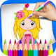 Princess Coloring Book & Drawing Book For Kids APK