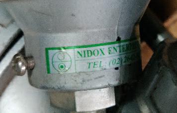 We sale Nidox 600c  resistance bulb Nidox Enterprise co 600c E-mail idealdieselsn@hotmail.com/idealdieselsn@gmail.com