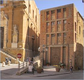 Sizilien - Agrigento - Blick auf die Chiesa di Santa Rosalia.