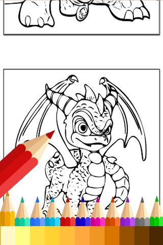 Draw Coloring for Fans Skylanders for PC