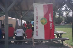 2007 Troop Campouts - flag.jpg