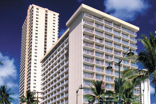 パシフィックビーチホテル外観(イメージ)