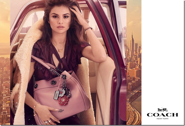 Coach Fall17 Campaign - Edie Bag