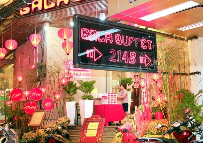 Buffet Tại Nhà Hàng Gala Buffet Ngọc Thủy - Giá Buffet Ngọc Thủy 2017