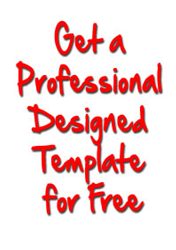 professional designed templates