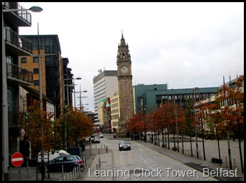 Leaning Clock Tower, Belfast