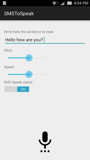 SMSToSpeak
