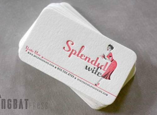 Splendid Wife business card