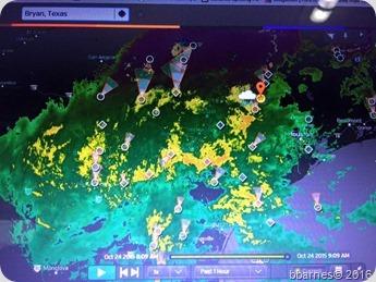 Radar Bryan TX 10242015