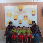 Laughter Day Celebration by Playgroup Section at Witty World, Bangur Nagar (2018-2019)