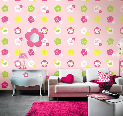 Kid's bedroom wall designs !