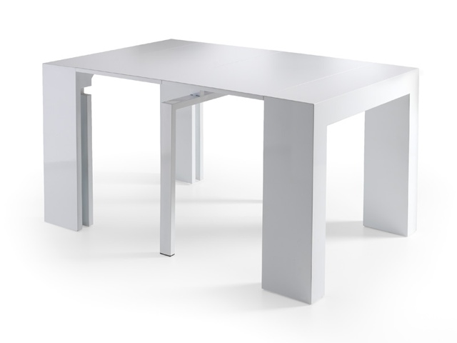 Armario Planejado Quarto Pequeno ~ Mudançaà vista Sobre decoraç u00e3o Aparador clean que vira mesa super funcional!