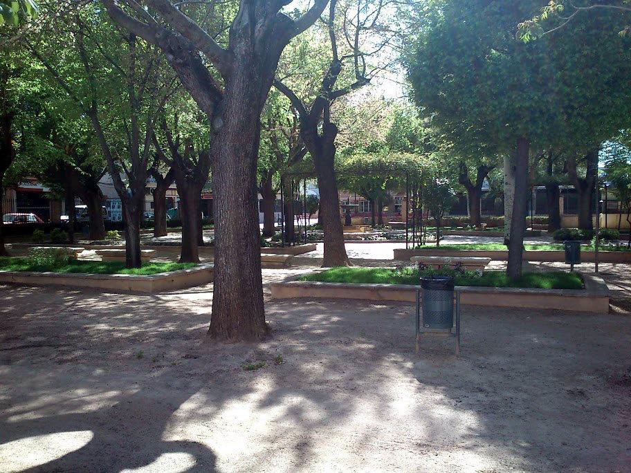 Parque municipal en Bolaños de Calatrava