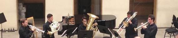 Concierto con programa sorpresa a cargo del Quinteto Alfort Brass en los Teatros del Canal