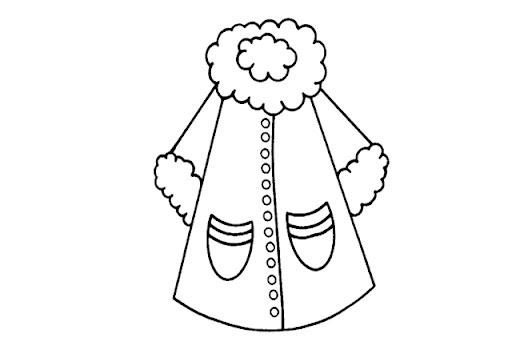 Como dibujar un abrigo para ninos