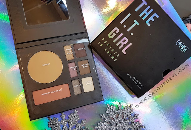 [Review] The IT Girl All In One Palette dari Make Over