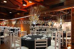 Fotos de decoração de casamento de Aniversário 50 anos Luiz Antonio no Marina Barra Clube da decoradora e cerimonialista de casamento Liliane Cariello que atua no Rio de Janeiro e Niterói, RJ.