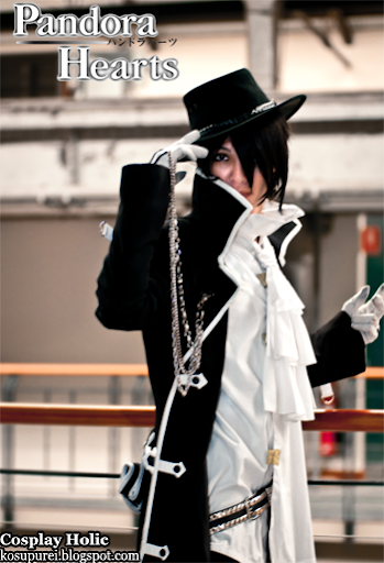 pandora hearts cosplay - gilbert nightray 2 by martin