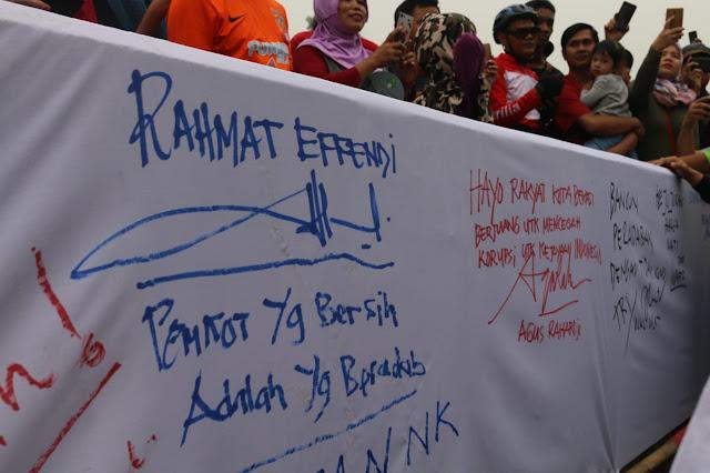 Kota Bekasi Peringati Hari Anti Korupsi Sedunia, Agus Raharjo : Maindset Taat Aturan Harus Sejak Dari Dini