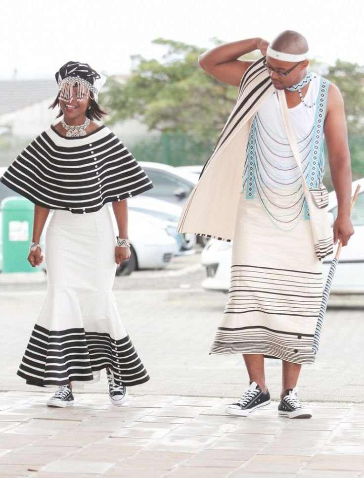Xhosa Traditional Wedding Attire In African Fashion 2d