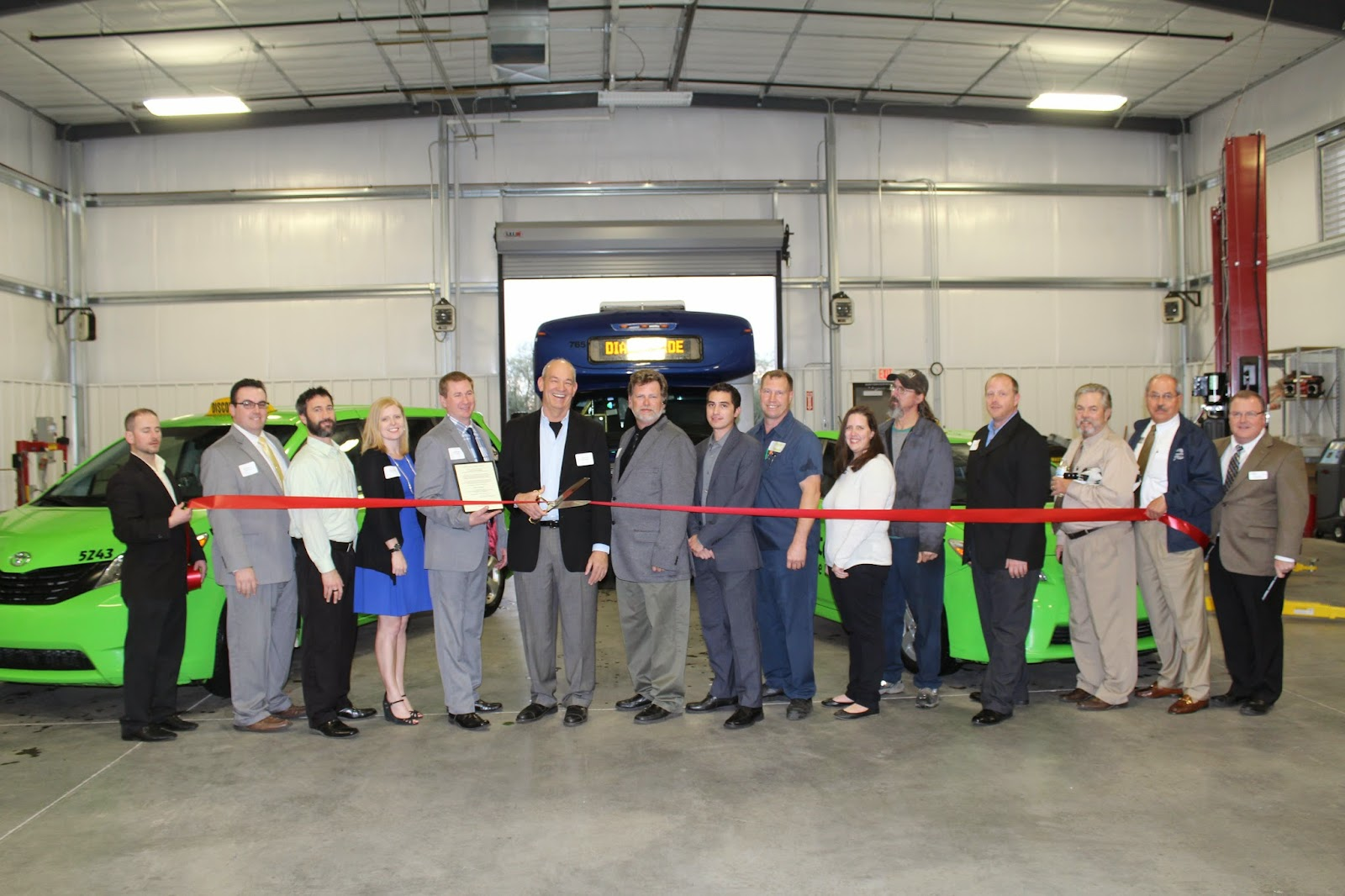 Total Transit would like to thank everyone who attended their Ribbon Cutting on Thursday, January 8. They are truly excited to continue to serve the Tucson community with a new location and invest in expanded operations in the city.   Total Transit 829 W. Silverlake Road, 85713 200-2000