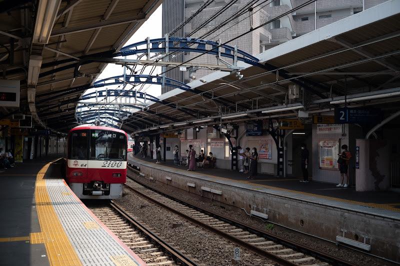 200808 日ノ出町駅ホーム