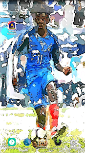 Ousmane Dembélé Wallpaper Football Player - náhled