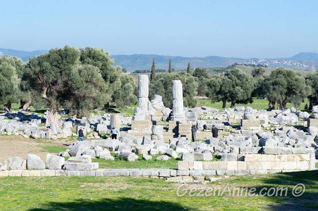 Teos antik kenti, Sığacık, Seferihisar