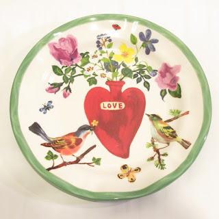 Nathalie Lété For Anthropologie Love  Plate