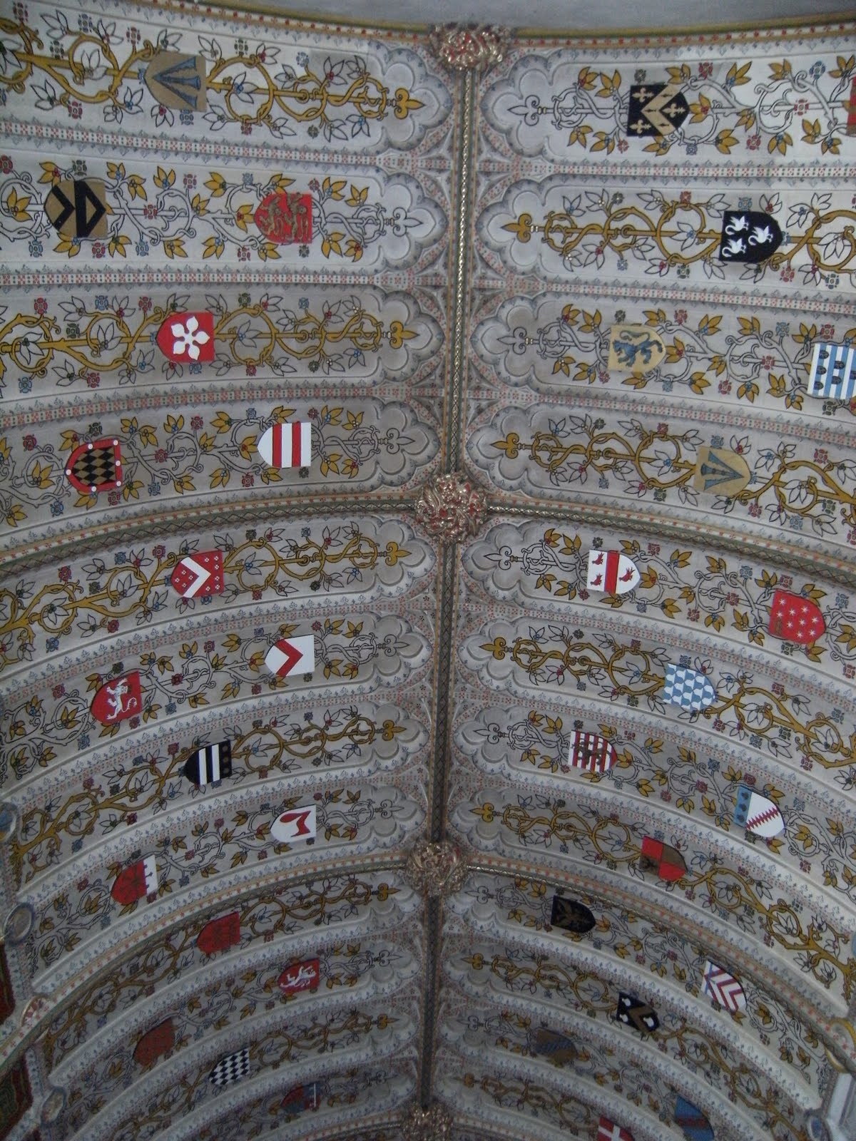 1005300140 Sidney Chapel ceiling, St John the Baptist Church, Penshurst