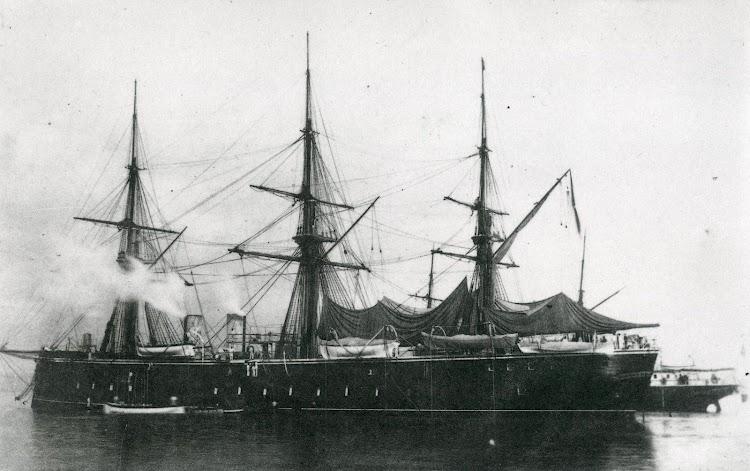 Fragata acorazada VITORIA. Del libro Buques de Vapor de la Armada Española. Del Vapor de Ruedas a la Fragata Acorazada, 1834-1885.JPG
