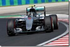 Nico Rosberg con la Mercedes