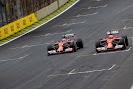 Ferando Alonso VS Kimi Raikkonen, Ferrari F14T
