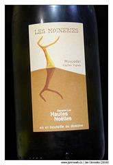 """Domaine-des-hautes-Noëlles-Muscadet-Vieilles-Vignes-Côtes-de-Grandlieu-""""Les-Moineries""""-2011"""