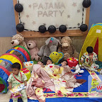 Pajama Party by Playgroup Evening Section at Witty World, Chikoowadi (2017-18)